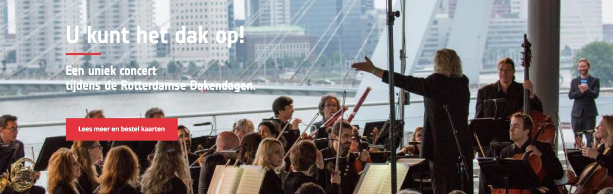 Sinfonia Rotterdam in Vreewijk – Rotterdamse Daken Dagen