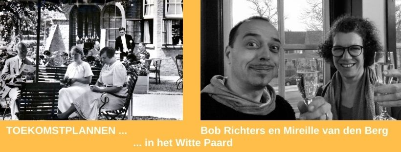 Bob Richters en Mireille van den Berg in Het Witte Paard
